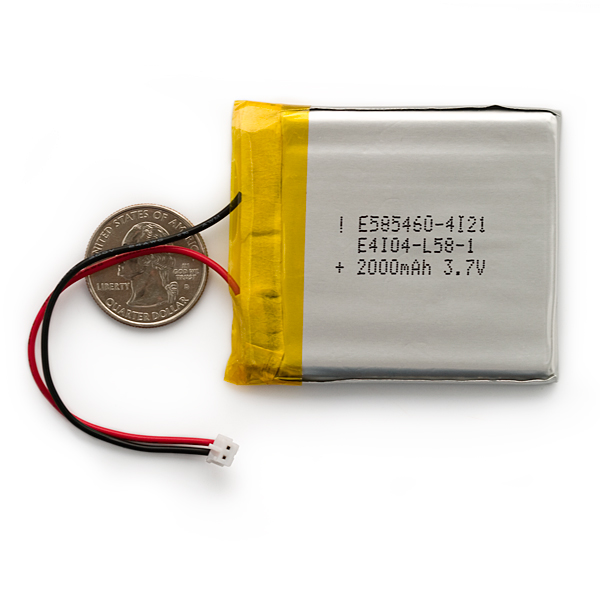 Polymer Lithium battery.