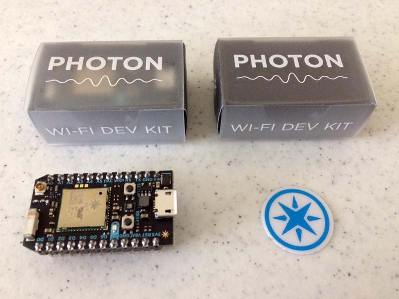 Particle Photon unboxing